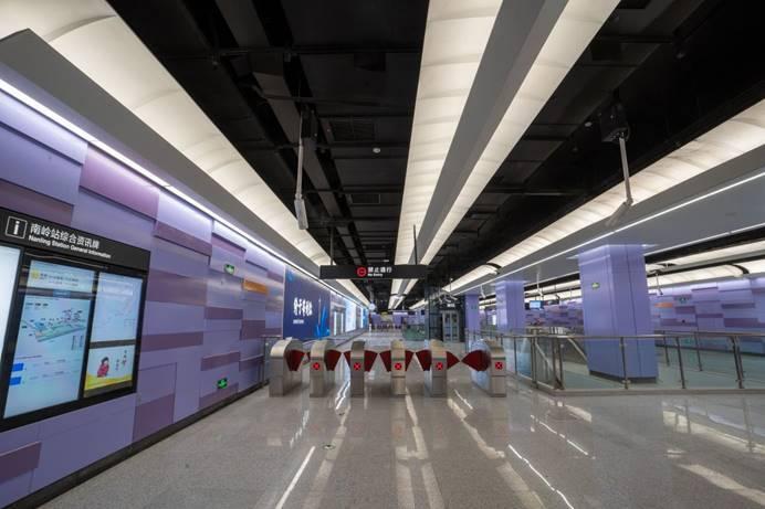40秒 | 青岛地铁1号线北段车站惊艳亮相 自然之风兼具文化之韵