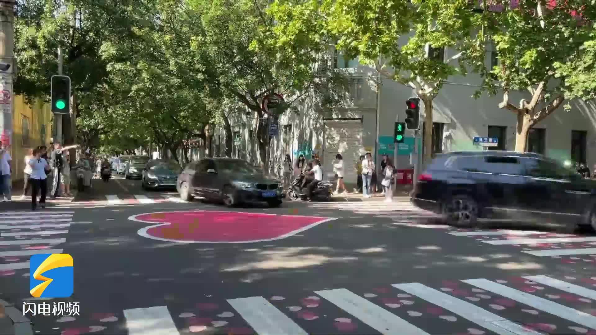 """记者探访济南""""网红马路"""":人气爆棚 交通隐患不能疏忽"""