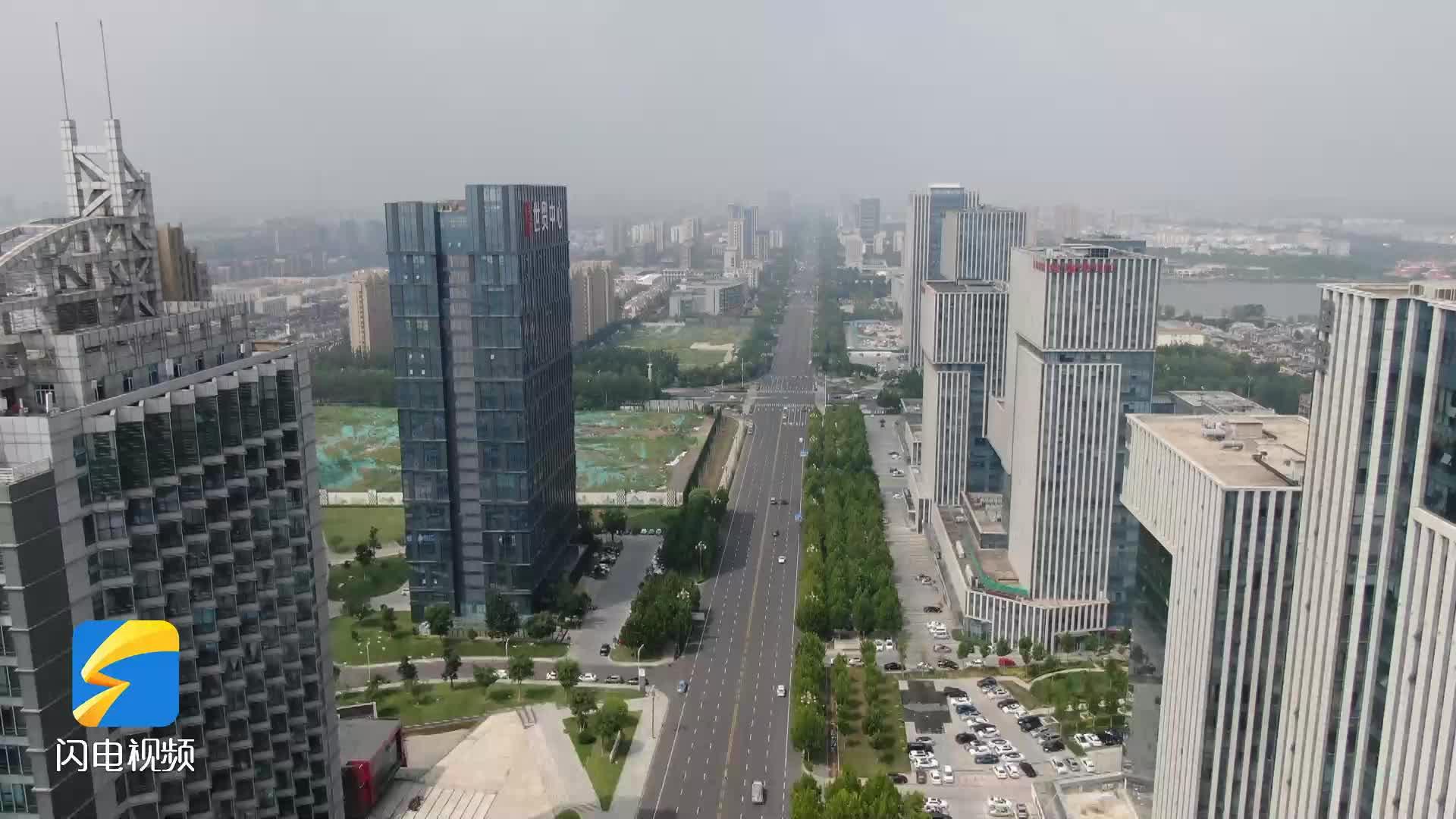 问政山东|215米地标大楼竟大面积闲置 东营经开区:加大招商力度,尽快盘活资源
