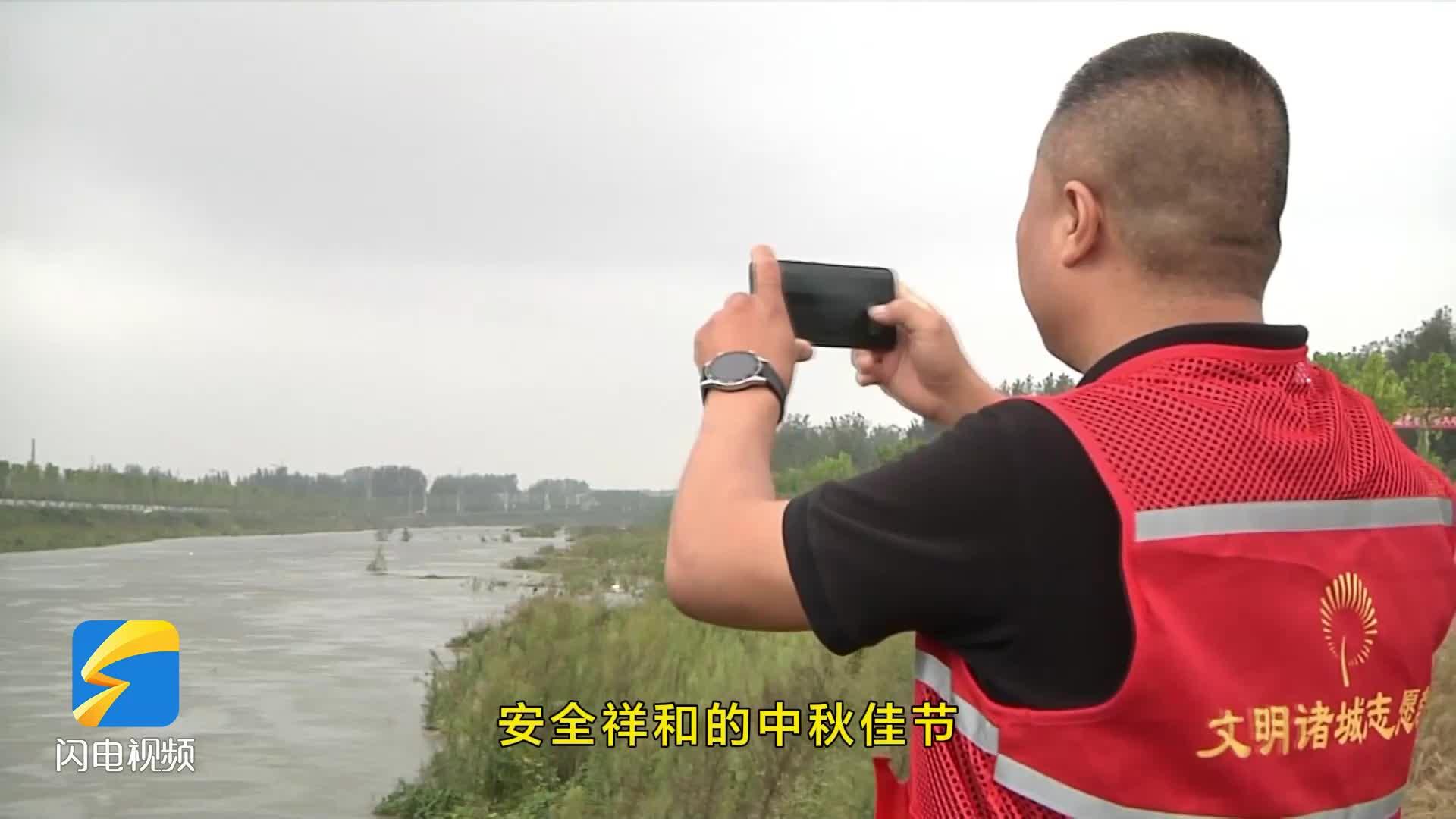 潍坊诸城:中秋一线 他们在坚守