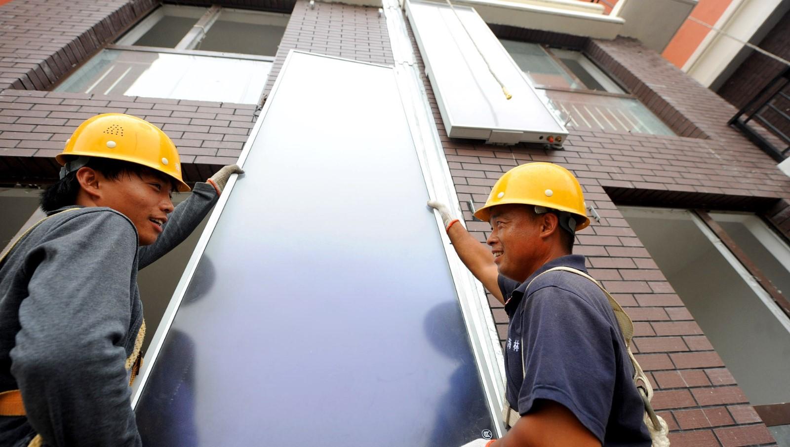 济南拟为新建住宅太阳能热水系统定标准:出水温度要求45℃以上