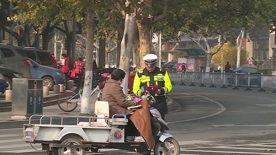 守规则除隐患!东营集中整治电动车交通违法行为