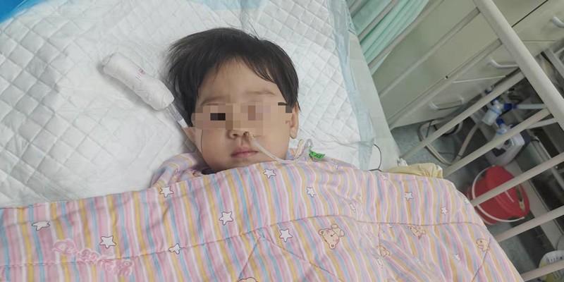误食老鼠药的女童已苏醒,喝了60毫升的奶,但没完全脱离生命危险