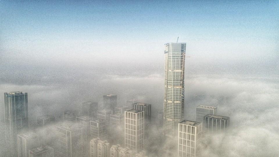 有图为证!特强浓雾来袭山东!多地能见度低于50米