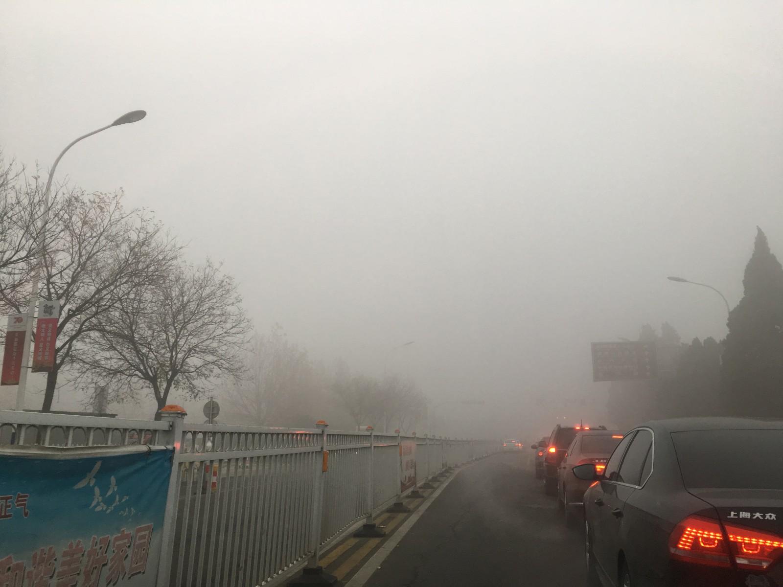 海丽气象吧|预警降级!山东将大雾红色预警降为黄色 大部地区仍有雾