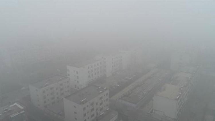 39秒丨浓雾笼罩!飞跃高空俯瞰雾海下的滨州