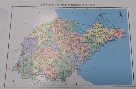 124座站点!山东省率先在国内建成基于北斗三号卫星信号的省域基准站网