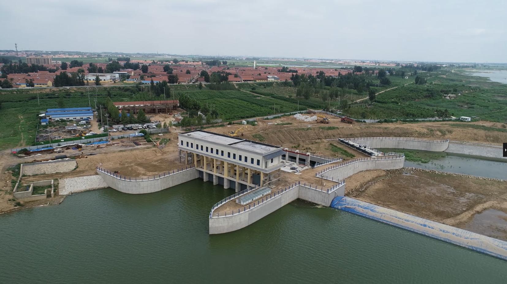 重点项目看落实|年为胶东调水2亿立方米,峡山水库胶东地区调蓄战略水源地工程已可通水