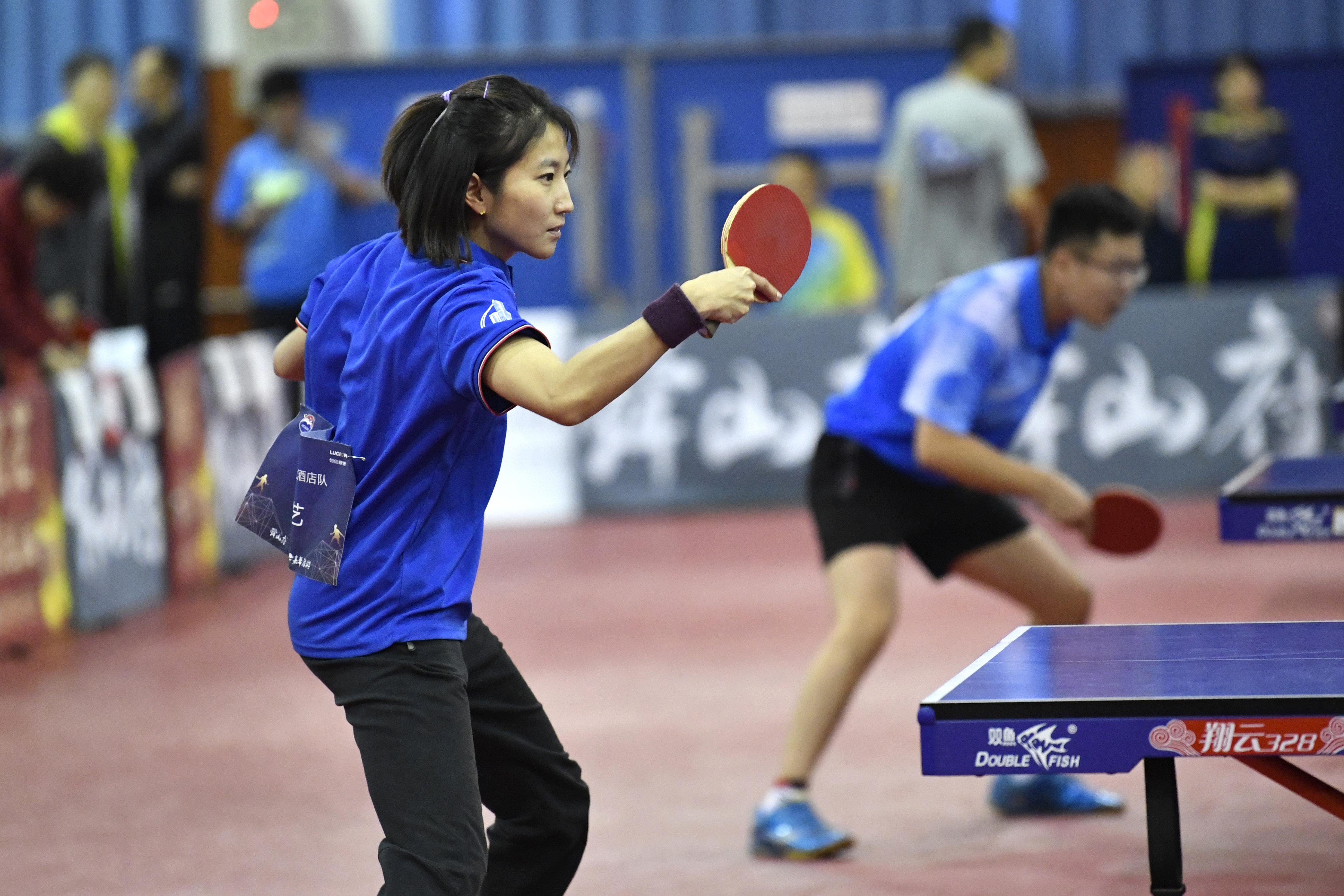 火热比拼打出专业范儿!山东省第十一届省直机关乒乓球邀请赛在济南举行