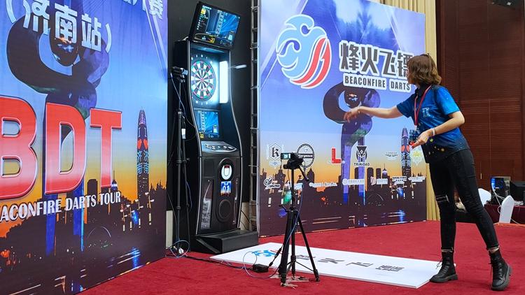 2019烽火飞镖公开赛济南站完美收官 宗笑尘夺得冠军
