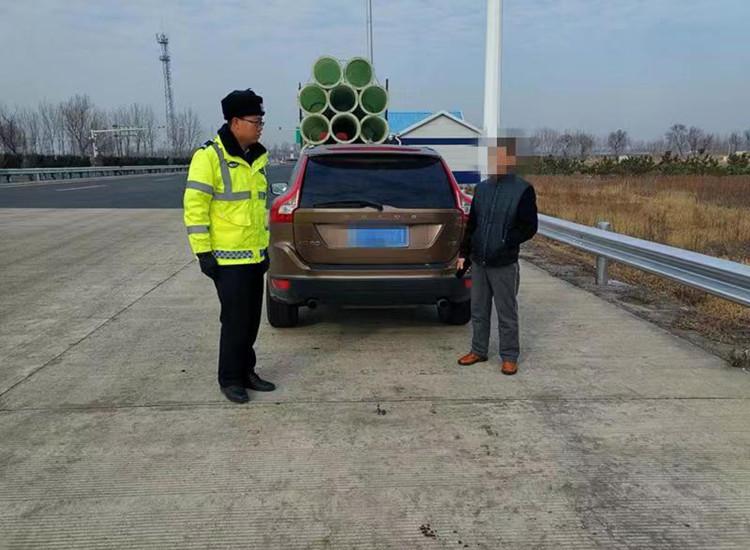 新年第一天超速+无证驾驶 烟台一男子被拘留