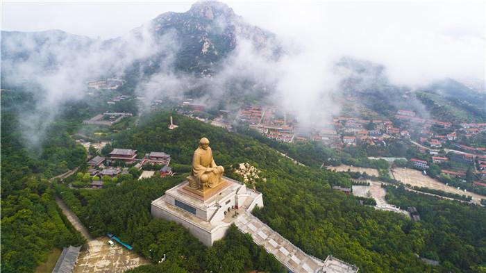 齐赏好景|正月初一至十五,威海赤山景区春节庙会迎八方游客