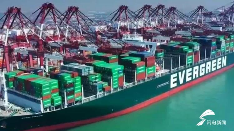 """山东港口:""""五一""""期间再创效率新高 助力复产复工"""