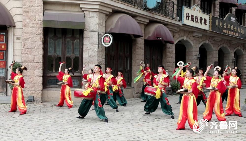 "vlog丨舞龙、高跷、皮影……端午假期跟记者一起放""粽""台儿庄"