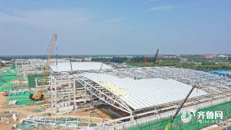 大河奔腾|打卡世界级地标!济南绿地国际博览城将建国内展览面积最大会展中心