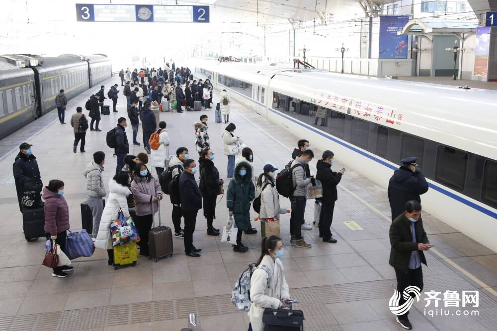 山东去往西部城市更快了!4月10日济铁将实行新的列车运行图