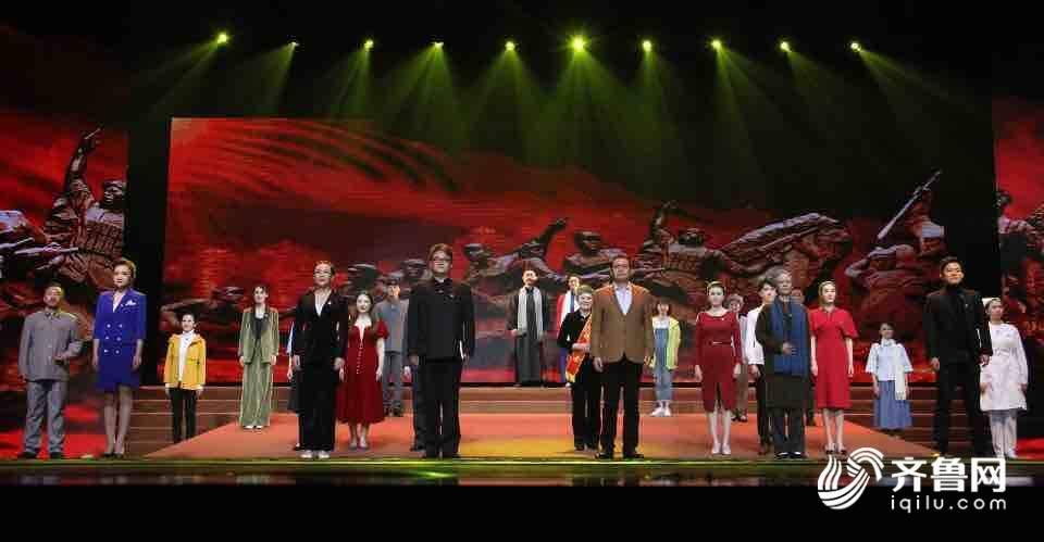 《【万和城娱乐主管】大型音舞诗话《追寻》上演 追寻红色记忆坚定理想信念》