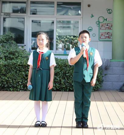 《【迅达主管】讲好王尽美的故事 山东省实验小学举行红色主题升旗仪式》