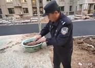 潍坊诸城一工地挖出迫击炮弹 排爆民警紧急除险