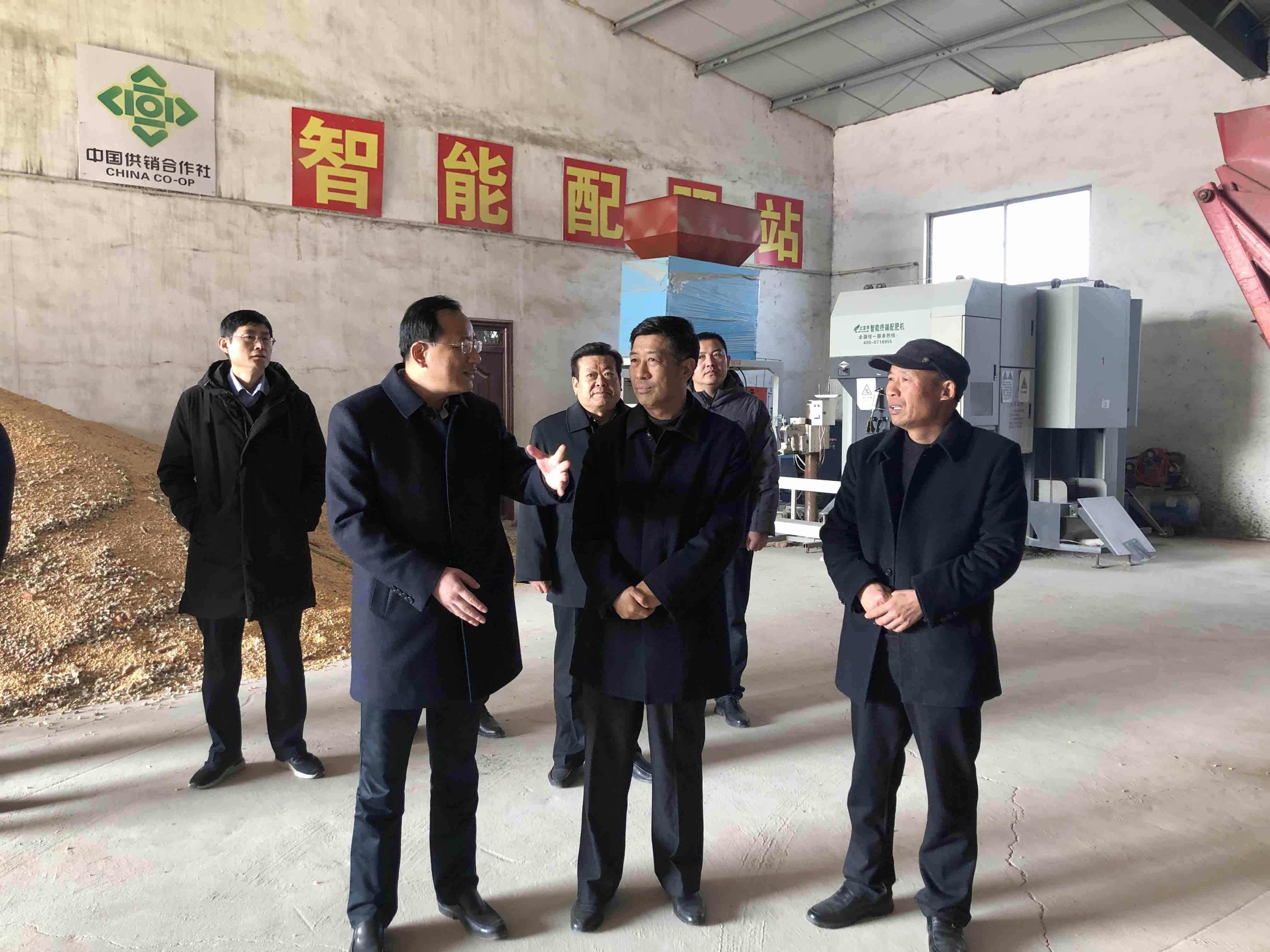问政追踪 | 枣庄提高托管积极性 配肥机将多个为农服务中心共用