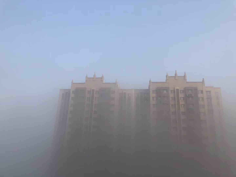 带你领略大雾笼罩下的齐鲁大地