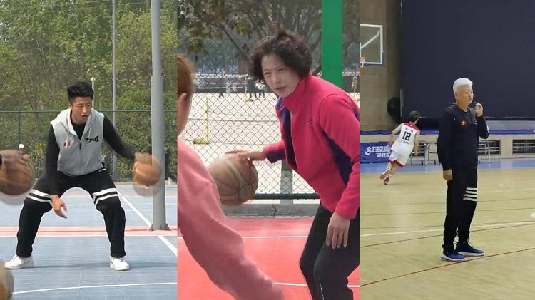 78秒|幸福!父母和儿子在同一所高校教体育:很高兴看到他的成长