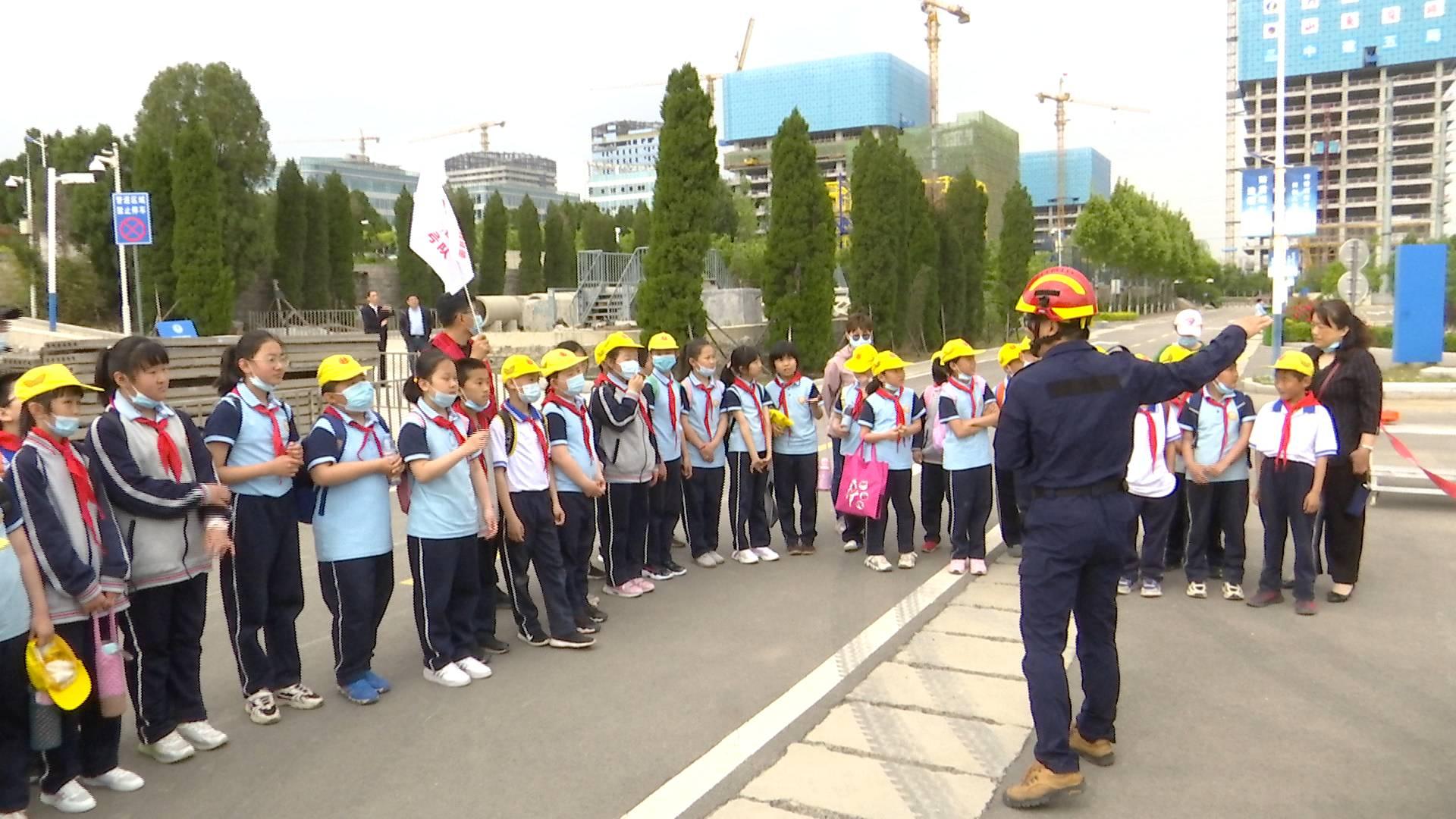 1500余名师生走进山东省防震减灾开放日活动