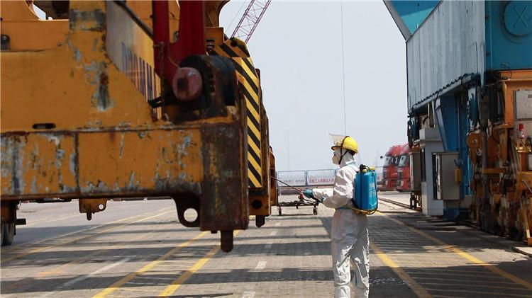 潍坊滨海区强化港口疫情防控 织密海上疫情防控网
