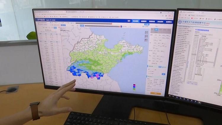 最高点位144毫米!昨夜临沂、枣庄局地大暴雨 今天山东这些地区将有大到暴雨