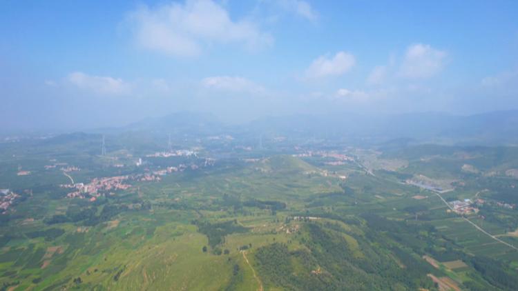飛閱齊魯|俯瞰鄒平市臨池鎮秀美村居 看藏在綠水青山間的美景