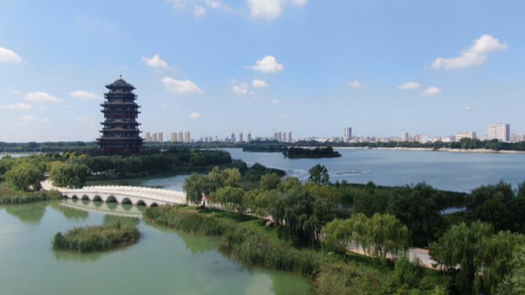 滨州黄河楼:探寻黄河文化 领略黄河壮美