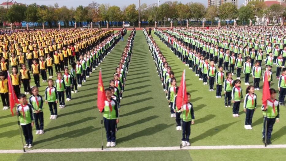 """滨州无棣县举行""""红领巾我为你骄傲·争做新时代好少年""""建队日活动"""