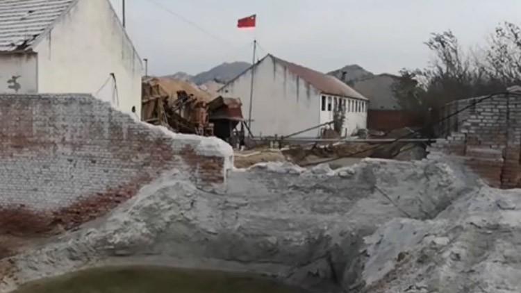 【今日聚焦】莱州:督查整改超两年 非法砂石厂为何难关停?