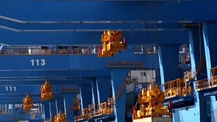 【冲刺四季度•重点项目巡礼】山东港口青岛港全自动化码头(二期)投产运营 科技水平全球领先