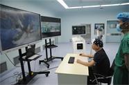 46秒 | 两地联合实施!国内首例人工智能磁导航5G远程手术在威海完成