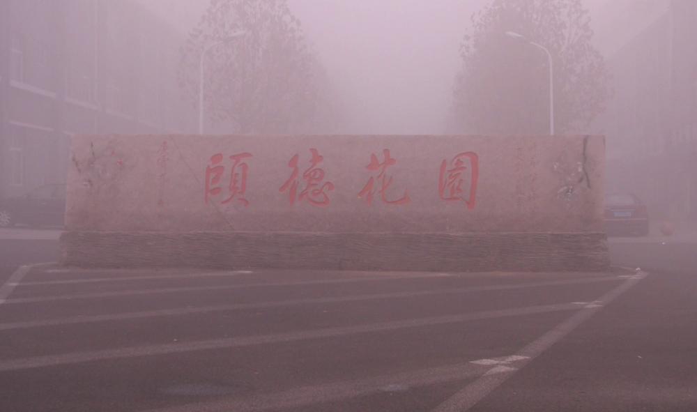 借大雾天掩护恶意扎胎 青州市颐德花园30多辆汽车遭毒手
