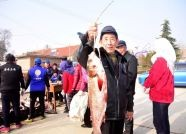 榮成:3000多斤魚作為農村信用獎勵 分發給全村380戶村民