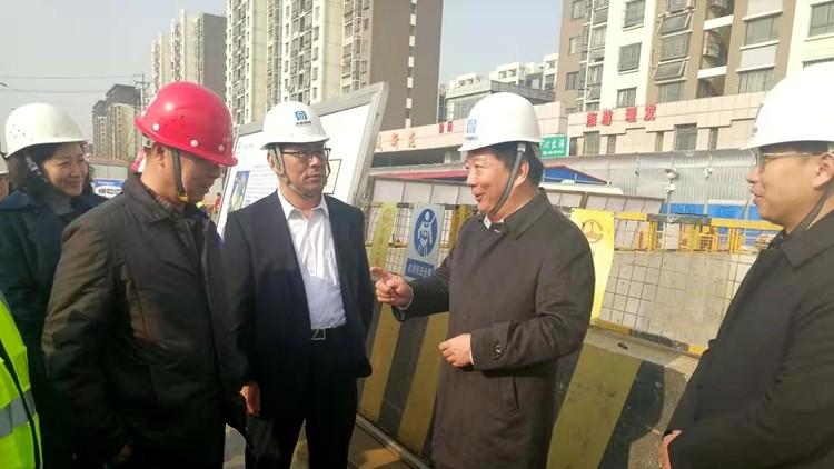 问政追踪丨济南地铁建设进展如何?二期规划线路市政管网迁改和地质勘探正在进行中
