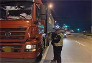荣成交警深入开展冬季交通安全整治行动 为平安出行保驾护航