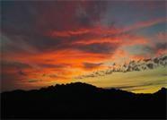威海:雨后昆嵛山美丽的日出景象(图)