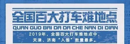 2019年度打车难报告出炉!天津、济南上榜,这些地方最难打车