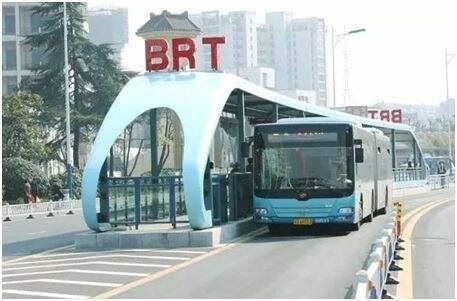 12月20日BRT1号线青岛路运行路段 调整至BRT车途运行