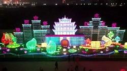 62秒|没来现场看这里!江北水城欢乐灯会亮灯,尽展聊城古香古韵