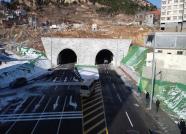 威海荣成首条公路隧道—石岛环山路隧道正式通车