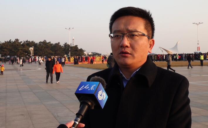 34秒丨日照市城投集团副总经理李鑫: 打造全民参与的祈福盛宴