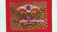 61秒丨杨柳青、绵竹、杨家埠……全国18地精品年画亮相潍坊年俗文化节