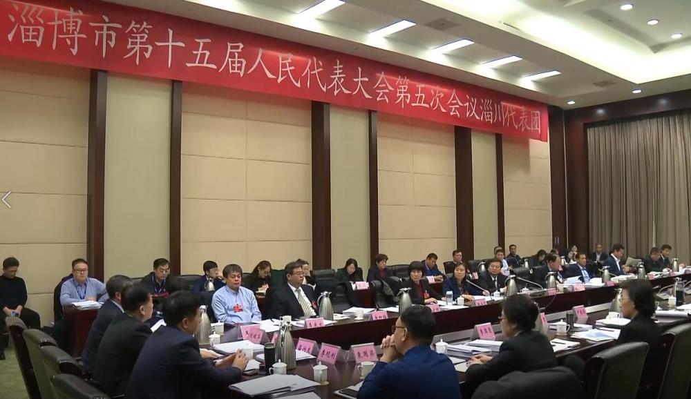 淄博市第十五届人民代表大会第五次会议举行媒体开放日 这些话题最受关注