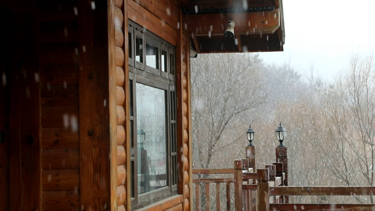 25秒丨美景如画!济南九如山迎来2020年第一场雪