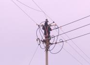 威海文登:寒冬里的供电守卫者 确保市民百姓用电安全
