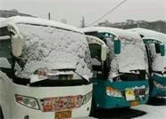 出行注意!雪后道路结冰难通行 威海文登区交通运行线路大调整